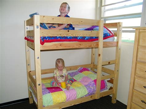 Diy Toddler Bunk Bed Plans Free