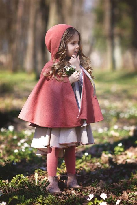 Diy Toddler Cape With Hood