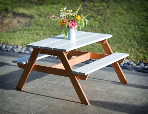 Diy Toddler Picnic Table