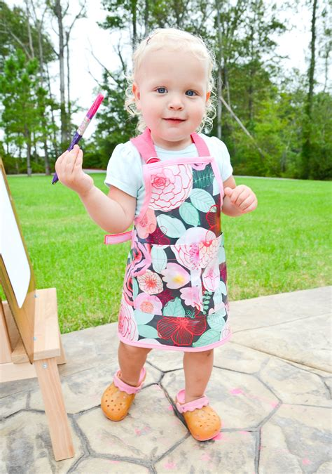 Diy Toddler Smock
