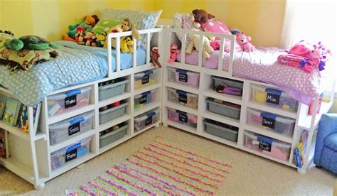 Diy Toddler Storage Bed