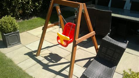 Diy Toddler Swing Frame