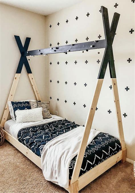 Diy Toddler Teepee Bed