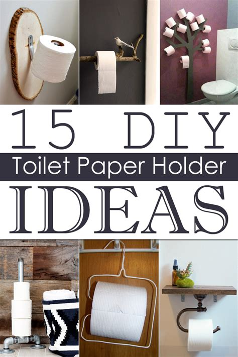 Diy Toilet Paper Holder Ideas