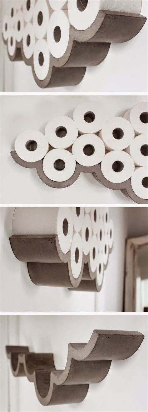 Diy Toilet Roll Holder Storage