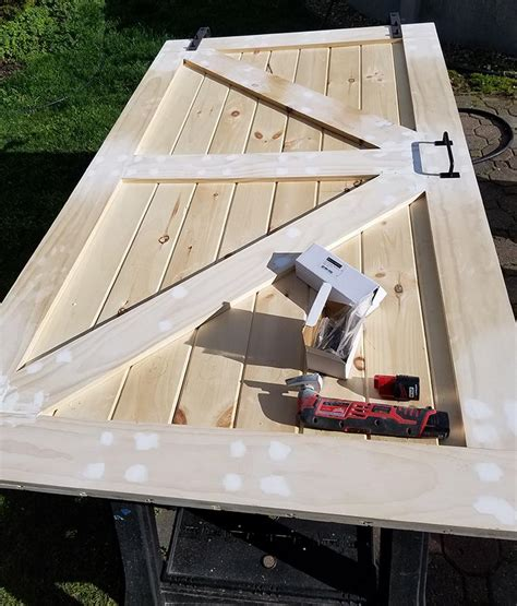 Diy Tongue And Groove Pine Barn Door