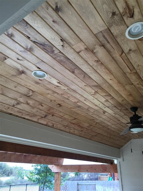 Diy Tongue And Groove Wood Ceilings
