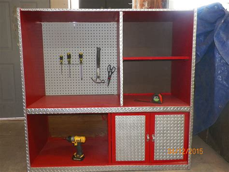 Diy Tool Chest From Old Entertainment Center
