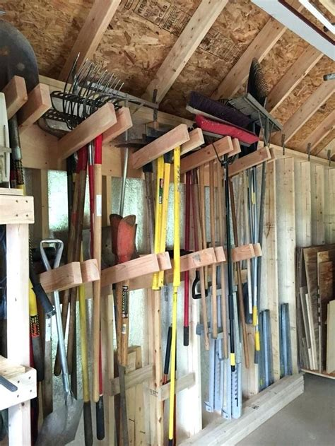 Diy Tool Shed Storage Solutions