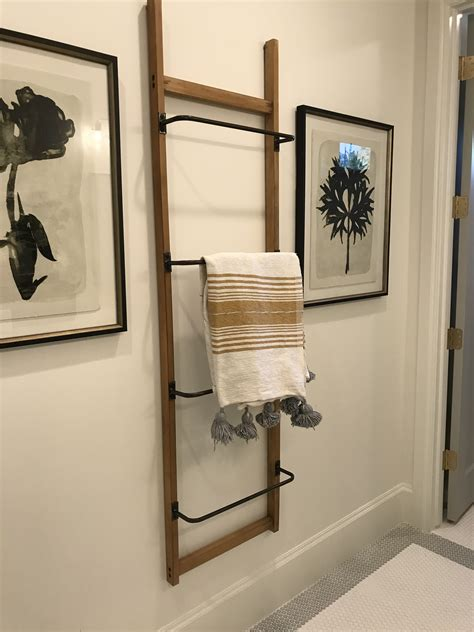 Diy Towel Bars For Bathroom