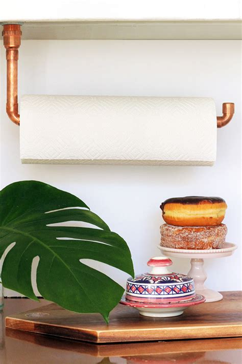 Diy Towel Holder Pinterest