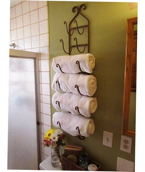 Diy Towel Storage Ideas