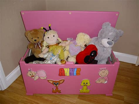 Diy Toy Boxes For Girls