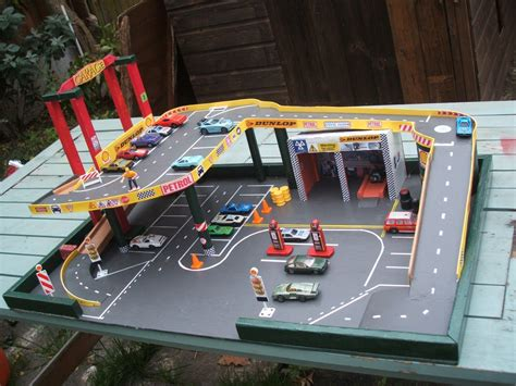 Diy Toy Car Garage Wood