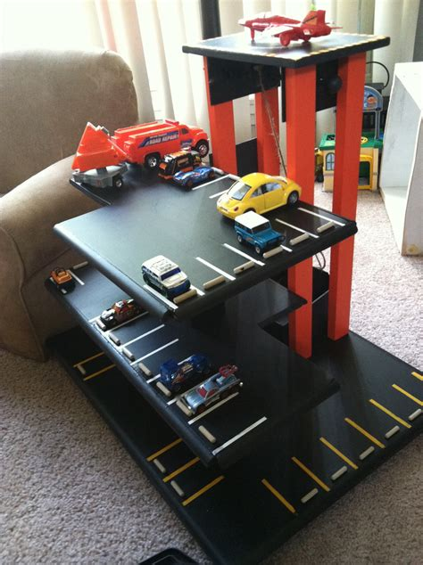 Diy Toy Car Garage Wood Instagram Prints