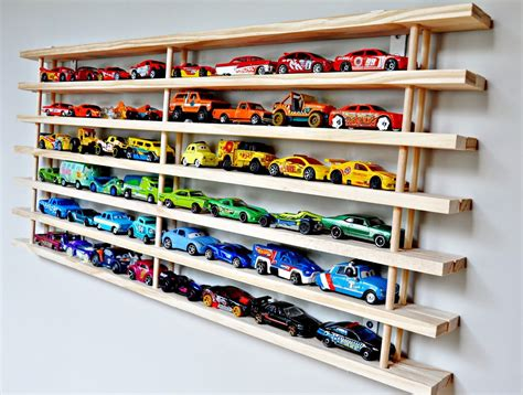 Diy Toy Car Shelf