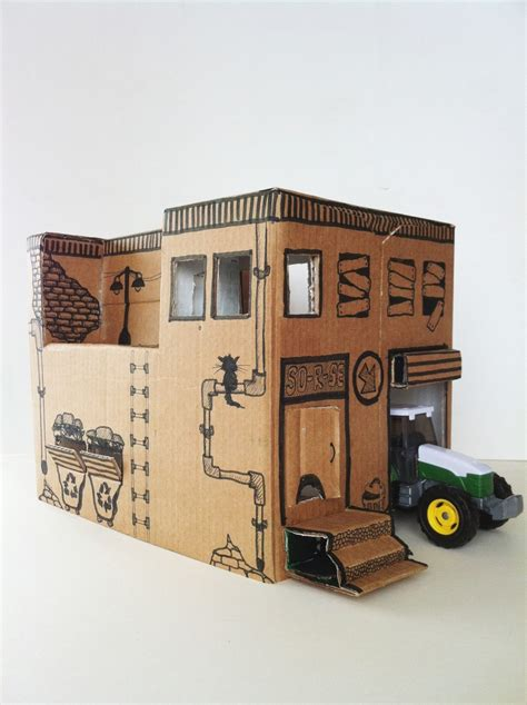 Diy Toy House From Cardboard