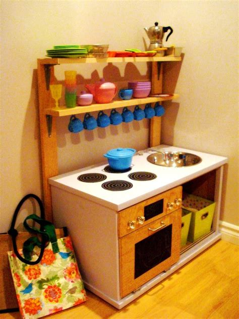 Diy Toy Kitchen Pinterest