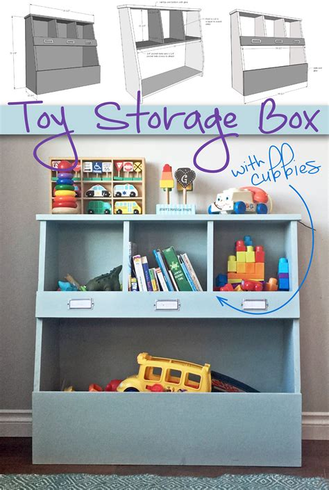 Diy Toy Storage With Plans