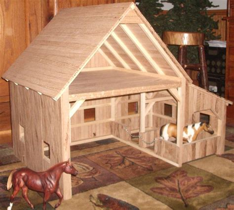 Diy Toy Wood Barn Pattern