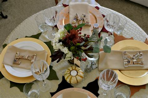 Diy Traditional Takedown Table Setting