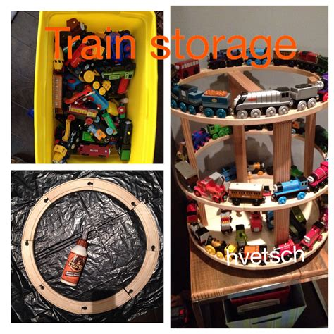 Diy Train Storage