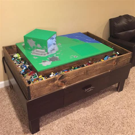 Diy Train Table To Lego Table