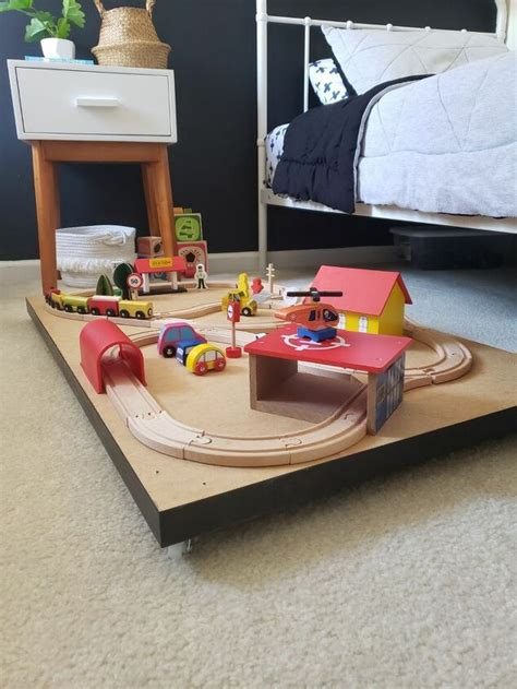 Diy Train Table Trundle