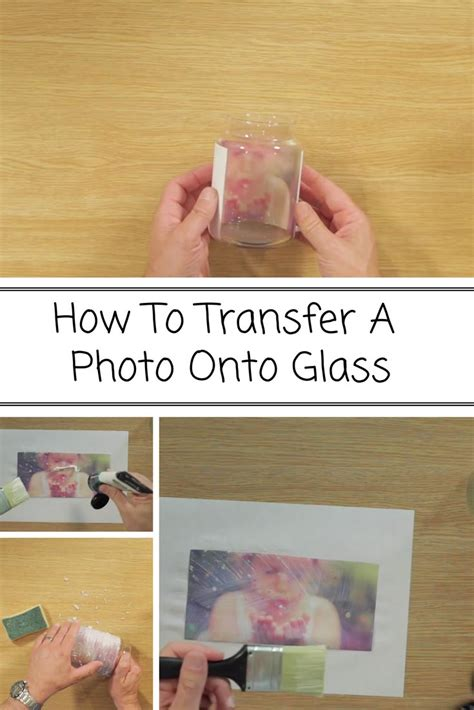 Diy Transfer Picture To Glass