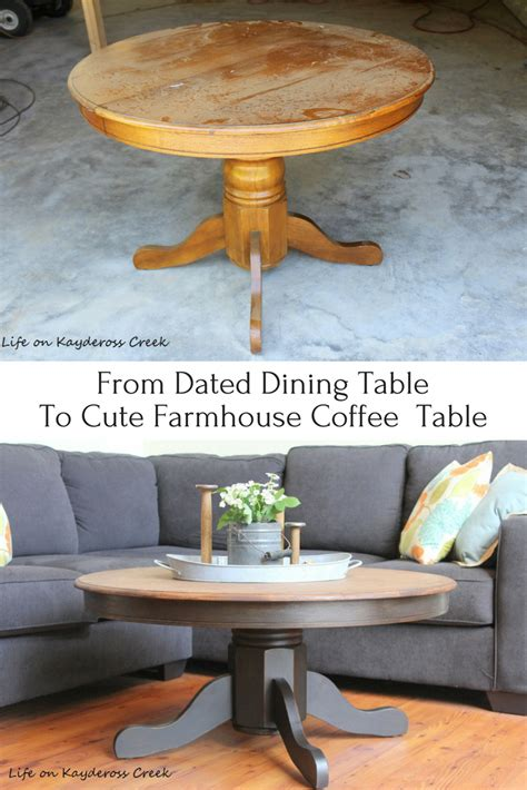 Diy Transforming Old Table To Farmhouse Table
