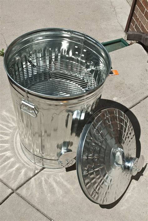 Diy Trash Can Grill