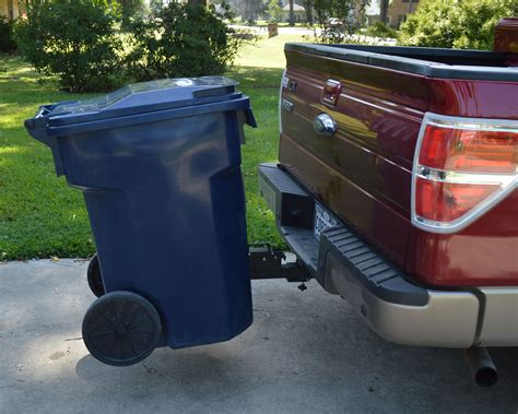 Diy Trash Can Hauler