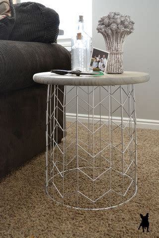 Diy Trash Can Side Table