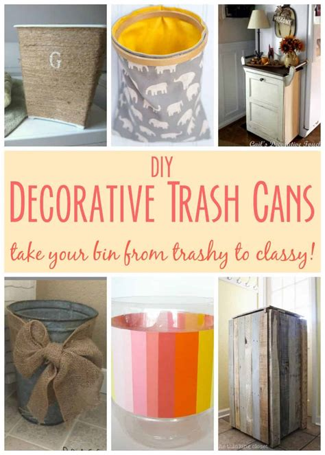 Diy Trash Cans