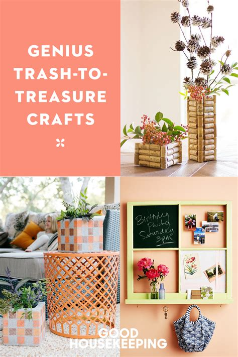 Diy Trash To Treasure Ideas