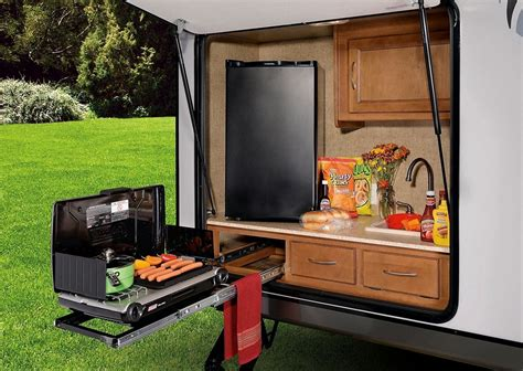 Diy Travel Trailer Outdoor Kitchen