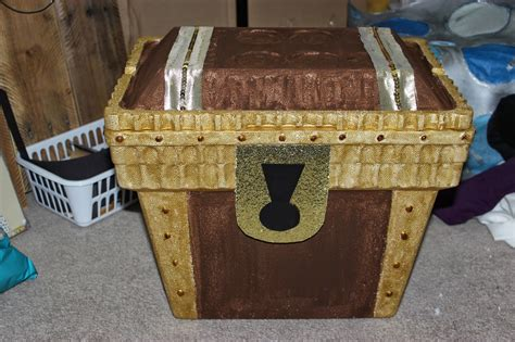 Diy Treasure Chest Paper