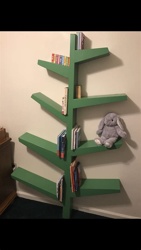 Diy Tree Bookcase Plans