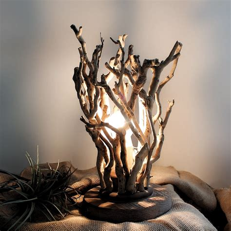 Diy Tree Branch Table Lamp