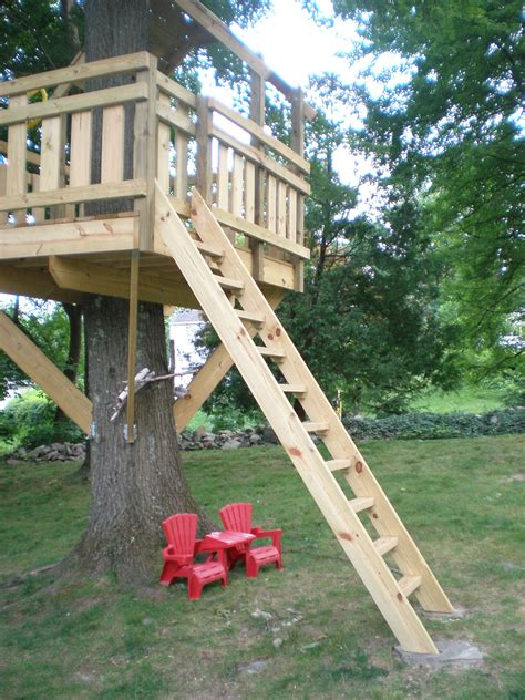 Diy Tree House Ladder