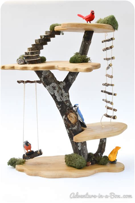 Diy Tree House Toy
