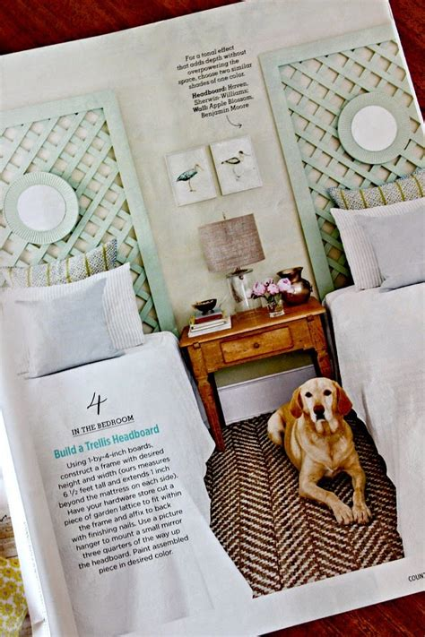Diy Trellis Headboard
