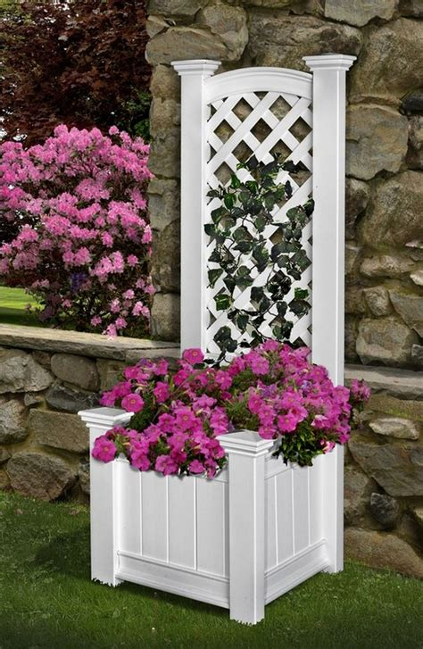 Diy Trellis Planter Designs