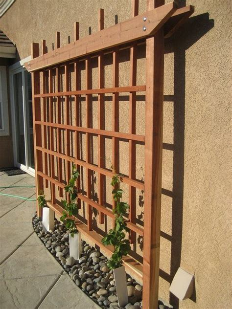 Diy Trellis Wood