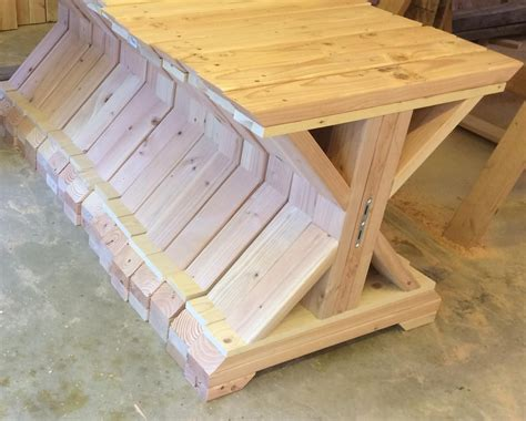 Diy Trestle Bench