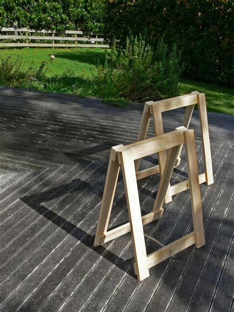 Diy Trestle Table Legs