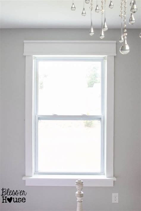 Diy Trim Molding Around Windows
