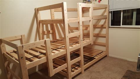 Diy Triple Bunk Beds Plans