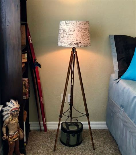 Diy Tripod Table Lamp