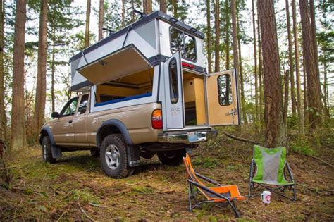Diy Truck Bed Camper Projects Using Recycled
